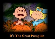 Peanuts... This is the only thing I like about Halloween!
