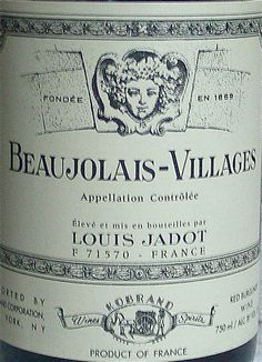 Beaujolais-Villages... Yummy yummy yummy yummy yummy. Loved it!! I trust the Louis Jadot vineyards, and when I finally found this Beaujolais-Villages, it did not disappoint. Going into the collection!