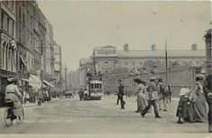 Grafton Street, Dublin City, Dublin Ireland, Site Design, Vintage Postcards, Great Britain, Holland, The Past, Street View