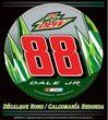Dale Earnhardt Jr 2012 Diet Mountain Dew Round Vinyl Decal by WinCraft. $1.89. Officially licensed Dale Earnhardt Jr. round sticker has a self adhesive back. Make this sticker removable by magnetizing it. Size is approximate. Made in the USA. Racing, NASCAR, auto, sports, pro-league, team.
