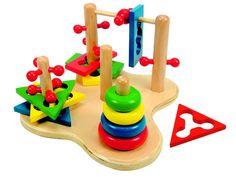 """Woody Motorika """"3D"""" Logická hra pro nejmenší, která pomáhá rozvíjet prostorové vnímání"""