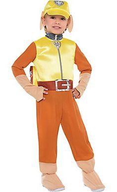 Toddler Boys Rubble Costume - PAW Patrol