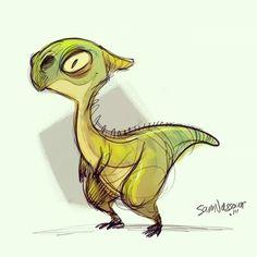 Another #dragon .. #art #characterdesign #samnassour
