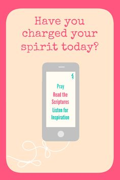 Occasionally Crafty: Charge Your Spirit Printable/Handout