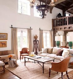 Real Life Inspiration: Ranch Decor Reese Witherspoon Style | Stylish Western Home Decorating