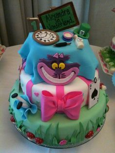 One-year old Birthday Party, Alice in Wonderland theme