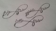Sister Infinity Tattoo Ideas Small