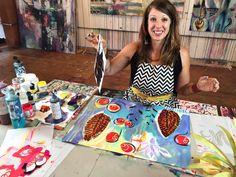 StencilGirl Talk: Welcome NEW StencilGirl Artist Flora Bowley