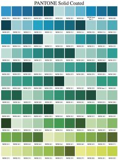 ID Card - Coimbatore: Pantone Color Chart   colour   Pinterest ...