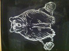Chalky bear