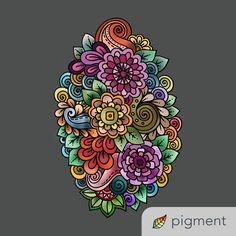 Pigment is an amazing coloring book app for iPad and iPhone that works well with the Apple Pencil. Coloring Book App, Coloring Apps, Adult Coloring, Mandalas Painting, Mandalas Drawing, Moon Wallpaper, Pigment Coloring, Design Tattoo, Tribal Fashion