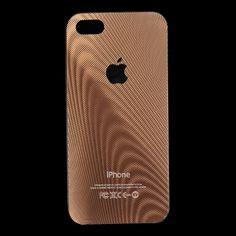 iPhone 5 / 5s Case - Wood Grain Metallic - Nplustwo.com