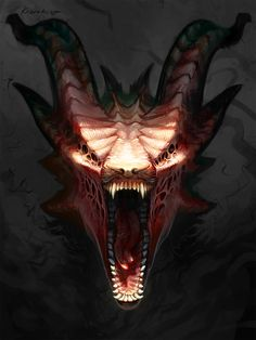 Demon of mine by Kezrek.deviantart.com on @deviantART