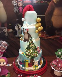 Christmas Cakes, 1, Desserts, Instagram, Food, Holiday Cakes, Lets Go, Tailgate Desserts, Xmas Cakes