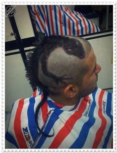 crazy haircut - you like it?