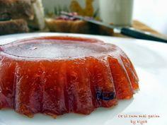 Ce si cum mai gatim: Marmelada de casa din gutui My Recipes, Cooking Recipes, Meatloaf, Preserves, Pickles, Gem, Pork, Food And Drink, Pudding