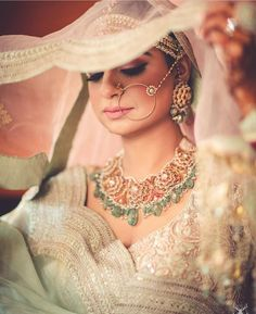 Looking for Bridal Lehenga for your wedding ? Dulhaniyaa curated the list of Best Bridal Wear Store with variety of Bridal Lehenga with their prices Bridal Makeup Looks, Bridal Looks, Best Portrait Photographers, Indian Bridesmaids, Green Lehenga, Wear Store, Wedding Photography Poses, Photography Ideas, Wedding Looks