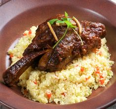 Braised Moroccan Lamb with Ras El Hanout, Rose Harissa and Dates ...