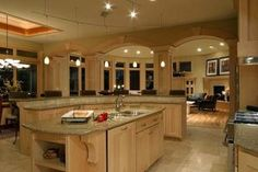 love the layout of the kitchen, perfect for entertaining.although i require hardwood floors, oak cabinets, granite countertops and stainless steel appliances! Cleaning Granite Countertops, Metal Countertops, Granite Countertops Colors, Kitchen Countertops, Countertop Options, Kitchen Tops, Buy Kitchen, Kitchen Ideas, Kitchen Decor