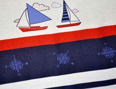Ahoj!  Urocza pościel w marynarskim stylu, czyli nowość od ROGOfashion :)