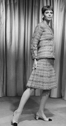 Fashion Designed by Coco Chanel, 1969 Collection