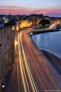 Rhodes old town at night - Greece  http://www.yourcruisesource.com/two_chefs_culinary_cruise_-_istanbul_to_athens_greek_isles_cruise.htm