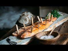 Viking salmon with flatbread and skagen sauce - SCANDINAVIAN Cuisine - YouTube