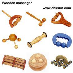 Wooden massagers