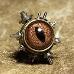 Steampunk Pin by *CatherinetteRings on deviantART