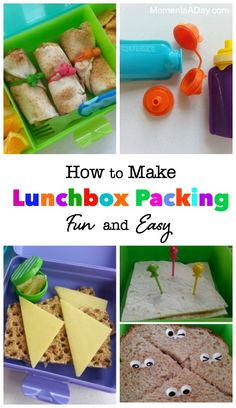 How to Make Lunchbox Packing Fun and Easy