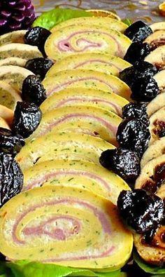 Juditka konyhája: TOJÁSTEKERCS Savory Pastry, Hungarian Recipes, Quick Snacks, Just Cooking, Antipasto, Diy Food, Food Hacks, Food Inspiration, Food To Make