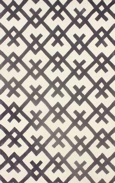 grey or blue -- nuLOOM Grey 5' x 8' Daphne area rug |Contemporary Rugs,Outdoor Rugs