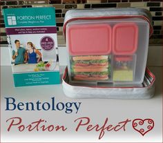 Weight Loss and Perfect Portions with Bentology #beautybrite