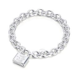 Tiffany & Co Outlet Elegant 1837 Lock Bracelet #jewellery