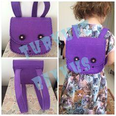 Sırt çantası #felt #bag #feltbag #çanta #toys #kids #kidsbag #flower #flowerbag #keçe