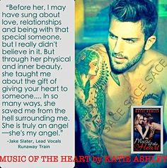 Jake Slater ~ Music of the Heart by Katie Ashley