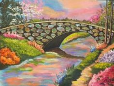 """Heavenly Bridge""  by Sherry Mitchell‎"