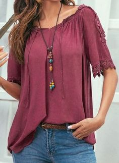 0e21cd7060fd4c Latest fashion trends in women s Blouses. Shop online for fashionable  ladies  Blouses at Floryday
