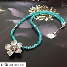 #Repost @just_one_lilly  Lots of prettiness in this piece - baby aquamarine beads and a beautiful silver flower. #followme as I show you my #J1L pretties #necklace #aquamarine #sterlingsilver #hilltribe #hilltribesilver #flower #sunflower #love #boho #hippy #gypsy #freespirit #choker #sparkle #spiritual #healing #inspiration #jewelry #fashion #madebyme #localdesigner #GoldCoast #justonelilly #trending #supportsmallbusiness
