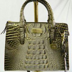 | Brahmin Auth Leather Anywhere Convertible Melbourne Shoulder Handbag