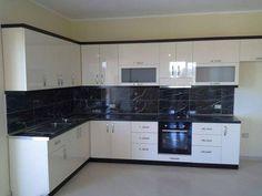 Kitchen Cupboard Designs, Rustic Kitchen Design, Kitchen Room Design, Modern Kitchen Cabinets, Interior Design Kitchen, Kitchen Layout Plans, Kitchen Modular, Modern Kitchen Interiors, Cuisines Design
