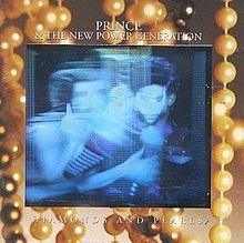 Prince - Album Cover 1991 - Diamonds and Pearls