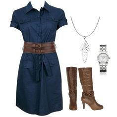 Love this look! -- Previous pinner wrote: Seriously adorable- but I could never pull it off!