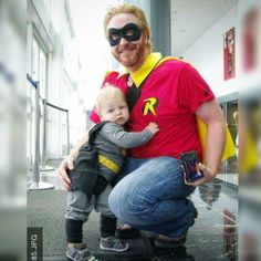 Awesome sidekick  ,2013 Vancouver Fan Expo  #vfe2013 #Vancouver #van #fanexpo #convention #con #cosplay #costume #father #fatherhood #dad #parent #parenting #Batman #robin #dynamicduo #fatherson #Geoectomy http://ift.tt/2od4abc