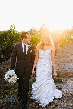 Allure Bridals Style 8861 with an added sash - Wedding Photography: Ken Kienow Photography