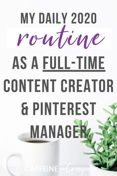 Have you ever wondered what a full time online entrepreneur does? Here's how I stay productive and motivated while working from home online! Work From Home Business, Business Tips, Online Business, Daily Routine Schedule, Daily Routines, Virtual Assistant, Assistant Jobs, Pinterest For Business, Online Entrepreneur