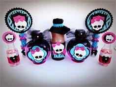 Resultado de imagem para Festa Monster High