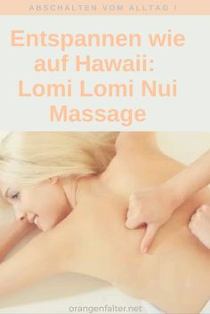 Lomi lomi mit intim massage tube interesting