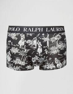 Image 1 of Polo Ralph Lauren Trunks With Hawaiian Print Hawaiian Print,  Latest Fashion Clothes 2907cb4a6da