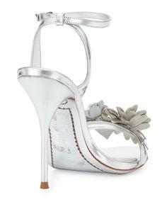 522a2c25286 Sophia Webster - Lilico Floral Leather 105mm Sandal Sophia Webster Schuhe
